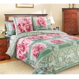 фото Комплект постельного белья Белиссимо «Любовные письма». 2-спальный. Размер простыни: 220х195 см