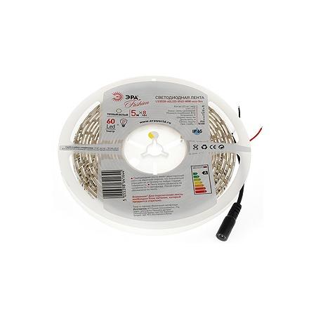 Купить Лента светодиодная Эра LS3528-60LED-IP65-WW-eco-5m
