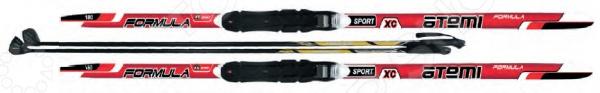 фото Комплект лыжный Atemi Formula 2014 STEP NNN. Цвет: красный, купить, цена