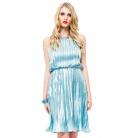 Фото Платье Mondigo 8681. Цвет: синий. Размер одежды: 46