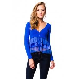 фото Жакет Mondigo 9452. Цвет: синий. Размер одежды: 46