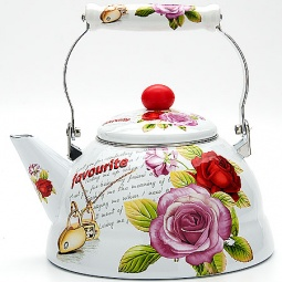 фото Чайник эмалированный Mayer&Boch MB-23073 «Розы»
