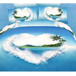 фото Комплект постельного белья Buenas Noches Voyage. Satin Fotoprint. 2-спальный