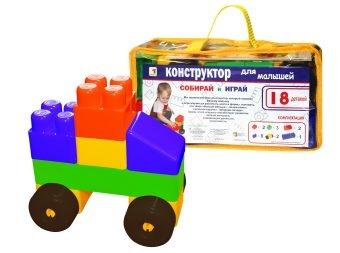 Конструктор для ребенка Игрушкин «Машинка» 25527