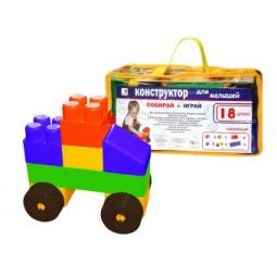 Купить Конструктор для ребенка Игрушкин «Машинка» 25527
