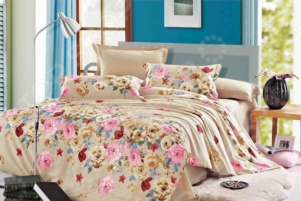 Комплект постельного белья Мар-Текс «Натали». 1,5-спальный1,5-спальные<br>Комплект постельного белья Мар-Текс Натали это удобное постельное белье, которое подойдет для ежедневного использования. Чтобы ваш сон всегда был приятным, а пробуждение легким, необходимо подобрать то постельное белье, которое будет соответствовать всем вашим пожеланиям. Приятный цвет, нежный принт и высокое качество ткани обеспечат вам крепкий и спокойный сон. 100 хлопок, из которого сшит комплект отличается следующими качествами:  достаточно мягка и приятна на ощупь, не имеет склонности к скатыванию, линянию, протиранию, обладает повышенной гигроскопичностью, практически не мнется, не растягивается, не садится, не выгорает, гипоаллергенна, хорошо отстирывается и не теряет при этом своих насыщенных цветов;  современная фотопечать прекрасно передаёт цвет и мельчайшие детали изображения;  за счёт специального переплетения волокон ткань устойчива к механическим воздействиям. Ткань устойчива к механическим воздействиям. Перед первым применением комплект постельного белья рекомендуется постирать. Перед стиркой выверните наизнанку наволочки и пододеяльник. Для сохранения цвета не используйте порошки, которые содержат отбеливатель. Рекомендуемая температура стирки: 40 С и ниже без использования кондиционера или смягчителя воды.<br>