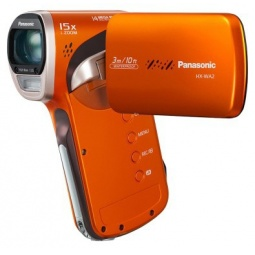 фото Видеокамера Panasonic HX-WA2. Цвет: оранжевый