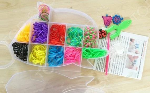 Набор для создания браслетов Shantou Gepai D163 bondibon набор для создания бус и браслетов королева бусинка