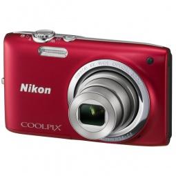фото Фотокамера цифровая Nikon Coolpix S2700. Цвет: красный