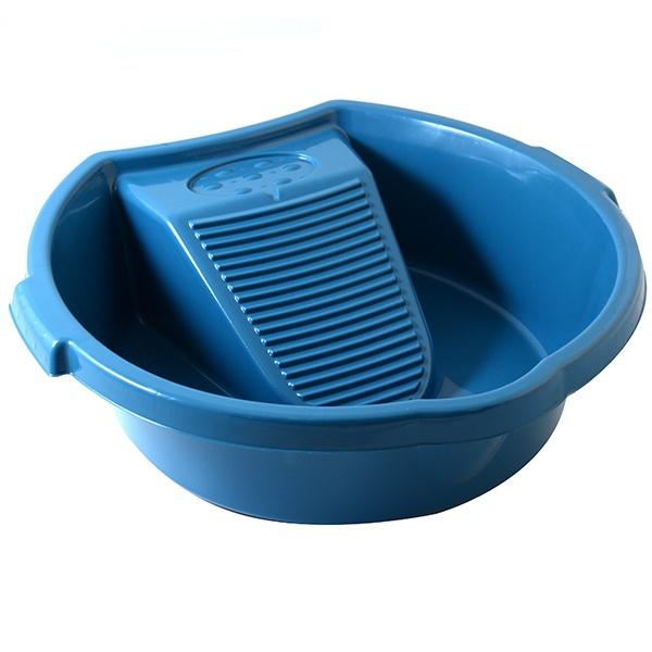 Таз Альтернатива «Хозяюшка» комплект для уборки альтернатива комфорт жесткая щетина цвет синий 2 предмета