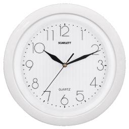 фото Часы настенные Scarlett SC-52 FW