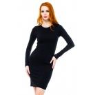 Фото Платье Mondigo 8670. Цвет: черный. Размер одежды: 46