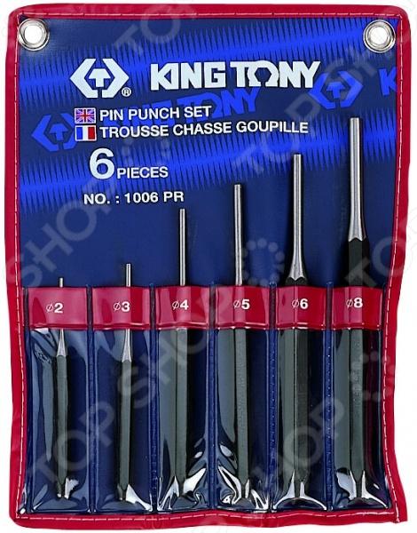 Набор бородков King Tony KT-1006PR комплект инструментов, предназначенный для увеличения отверстий в листовых материалах. Кроме того, пригодится в процессе разборки различных механизмов. Набор подойдет для строителей, монтажников и автомехаников. В комплекте 6 предметов.