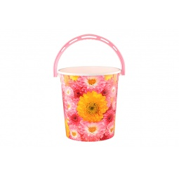 Купить Ведро круглое Violet 0112БК «Хризантемы»