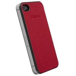 фото Накладка Krusell DONSo UnderCover для iPhone 4S. Цвет: красный