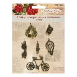 фото Набор декоративных элементов для вышивки Vintage Line 459305