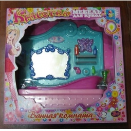 Купить Набор мебели для кукол 1 TOY Т54512 «Ванная»