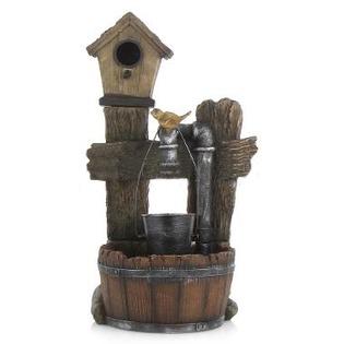 Купить Фонтан садовый GREEN APPLE GWXF02400-S «Лесной дом»