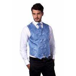 фото Жилет Mondigo 20601. Цвет: голубой. Размер одежды: S