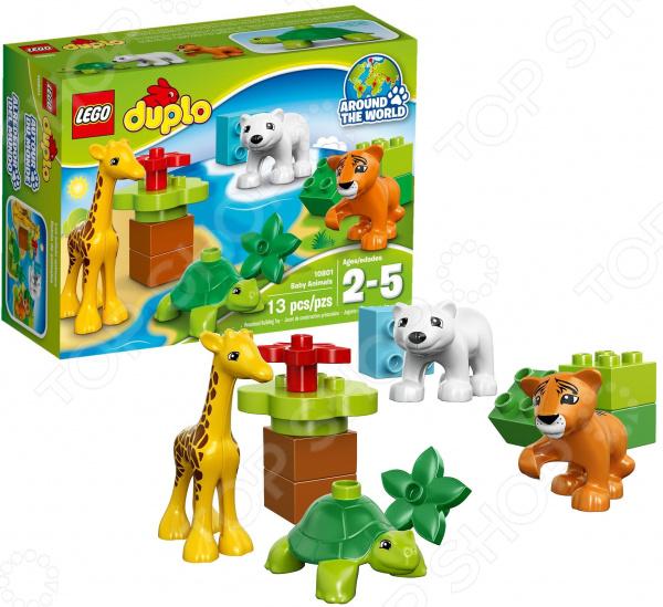 Конструктор игровой LEGO «Вокруг света малыши»Конструкторы LEGO<br>Конструктор игровой Lego Вокруг света малыши обязательно понравится ребенку. Он сможет самостоятельно собрать целую композицию, с которой потом можно будет играть. Играя с конструктором, ребенок будет развивать пространственное и логическое мышление, творческие способности и мелкую моторику рук. Кроме того, с получившейся игрушкой он сможет самостоятельно придумывать различные игровые ситуации, развивая тем самым и фантазию.<br>