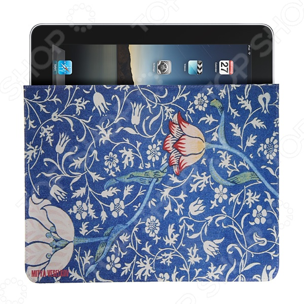 Чехол для iPad Mitya Veselkov «Тюльпан» чехлол для ipad iphone mitya veselkov чехол для ipad райский сад ip 08