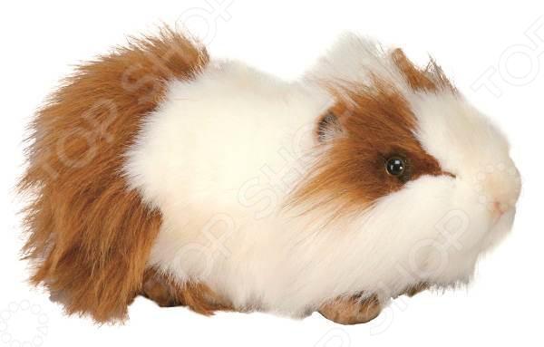 цена на Мягкая игрушка для ребенка Hansa «Морская свинка бело-рыжая»