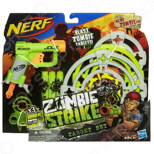 Бластер игровой Hasbro A6636 Nerf «Zombie Strike» hasbro nerf a6636 нерф зомби страйк мишени джолт бластер