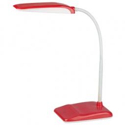 фото Настольная лампа Эра NLED-447. Цвет: красный