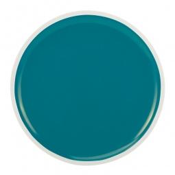 фото Тарелка обеденная Zak!designs Oceanside. Цвет: белый, голубой. Диаметр: 22 см