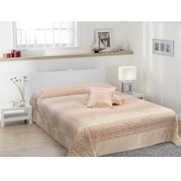 фото Покрывало с подушками TAC Melanie. Цвет: розовый