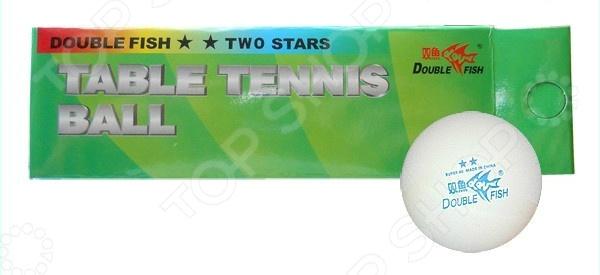 Мячи для настольного тенниса Double Fish 2-Star мячи адидас танго в киеве