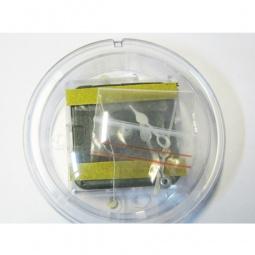 фото Часы акриловые круглые на магните RTO ЧА100