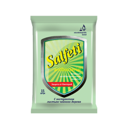 фото Салфетки влажные антибактериальные Salfeti Antibac №15