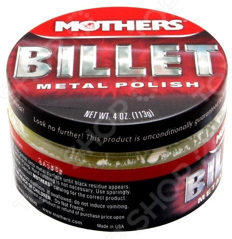 Полироль для металлических поверхностей Mothers MS05106 Billet полироль пластика goodyear атлантическая свежесть матовый аэрозоль 400 мл