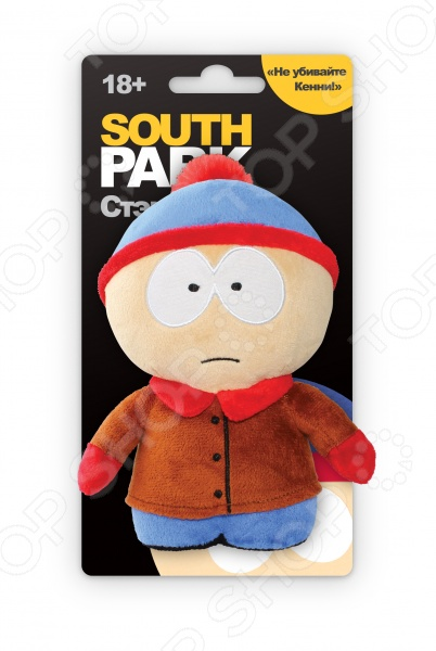 Мягкая игрушка Южный Парк с чипом «Стэн» футболка южный парк