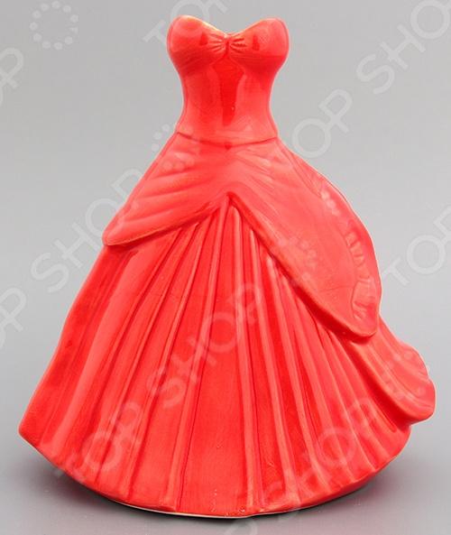 фото Ваза декоративная Elan Gallery «Платье бальное», Вазы