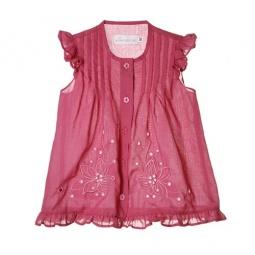 Купить Блузка детская Katie Baby Rosy variations. Цвет: розовый