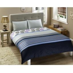 фото Комплект постельного белья TAC Venezia. 1,5-спальный. Цвет: голубой