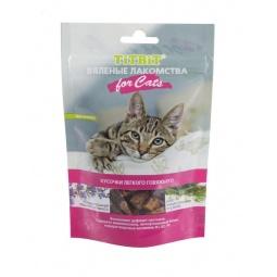 фото Лакомство для кошек TiTBiT 5125 «Вяленые кусочки легкого говяжьего»