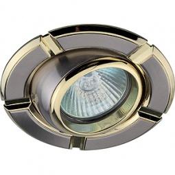 Купить Светильник встраиваемый поворотный Эра KL19 AT SN/G