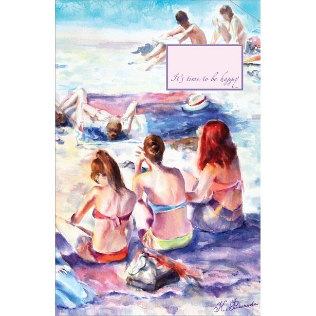 фото Блокнот. Француженки на пляже