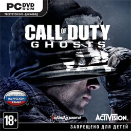 Купить Игра для PC Call of Duty Ghosts (PC-DVD, Jewel)
