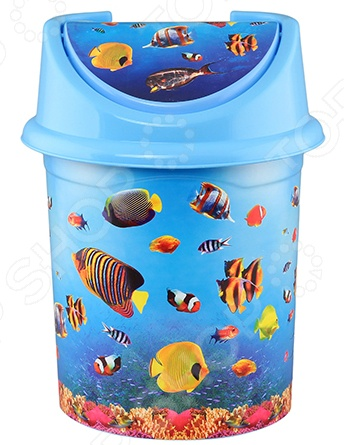 Контейнер для мусора детский Violet 0414/79 «Океан»