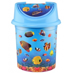 Купить Контейнер для мусора детский Violet 0414/79 «Океан»