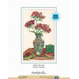 фото Набор для вышивания RTO «Турецкая гвоздика»