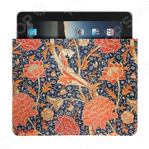 Чехол для iPad Mitya Veselkov «Красные пионы» красные лямки для лифчика