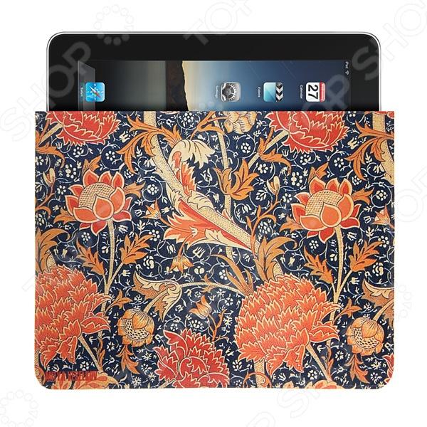 Чехол для iPad Mitya Veselkov «Красные пионы» чехлол для ipad iphone mitya veselkov чехол для ipad райский сад ip 08