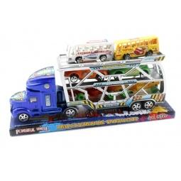 Купить Набор машинок инерционных Shantou Gepai «Автовоз» 168-12