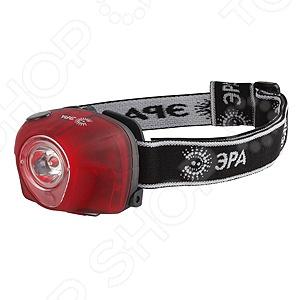 Фонарик налобный с коллиматором Эра G3WТуристические фонари<br>Фонарик налобный с коллиматором Эра G3W - фонарик с несколькими режимами работы. Ваши соседи по палатке будут благодарны вам за то, что вы используете режим красного освещения, которое наиболее приятно для глаз, остальные 2 мощных режима, удобны при решении каких-то бытовых проблем. Благодаря налобному фонарику ваши руки будут свободными, а вы сможете заняться всеми необходимыми вам делами. Удобен для ориентировки в темных помещениях, ввиду того, что направление света будет соответствовать направлению вашей головы. Незаменимая и удобная вещь для дома.<br>