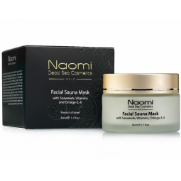 фото Маска для лица Naomi Facial sauna mask with Seaweeds, Vitamins and Omega-3,-6